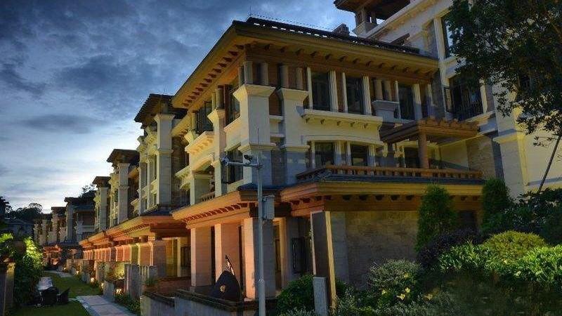 珠海海逸雍雅堡别墅地暖安装案例